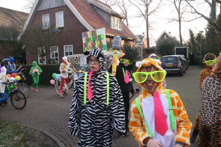 Carnaval op school